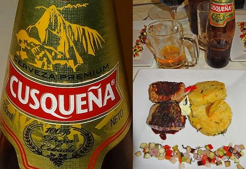 peru puno cusquena beer high altitude beef medallion steaks solo travel bilwander ρeru