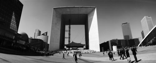 La Grande Arche de la Défence   by schoeband