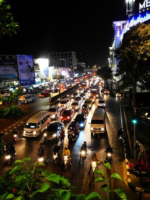 Tráfico en Siam