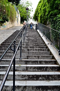 Montmartre hills going up | by David McSpadden