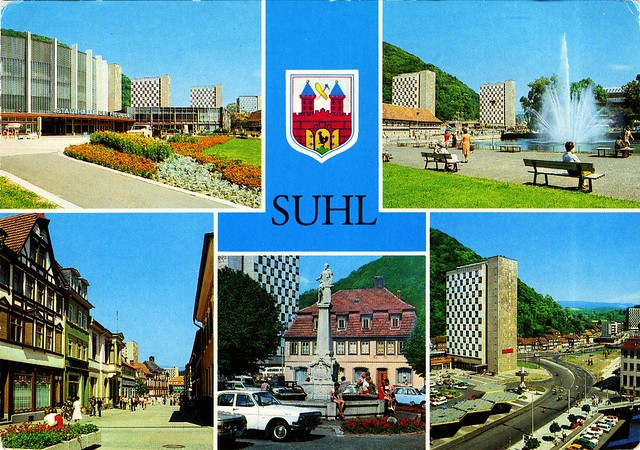 Germany - Thuringia - Suhl [01] - 1983 - front