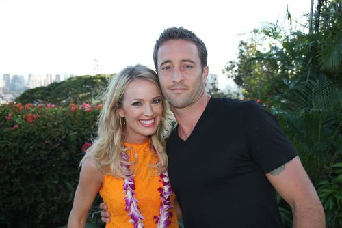 Alex and Brooke from the Insider 2011