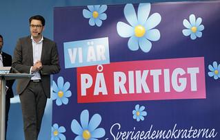 Almedalsveckan Sverigedemokraterna Jimmie Akesson_20140701_0060 | by News Oresund