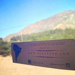 """Seguimos avanzando """"El Sur en 8"""" en #Perú rumbo a #Lima www.elsuren8.com #iphone4s #iphone #Ecuador #fotografía #photography"""