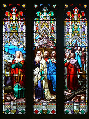 Sat, 06/18/2011 - 13:52 - Leaving the Ark - West Window Gloucester Cathedral 18/06/2011