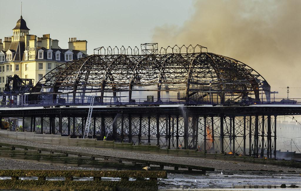 Very very sad - Eastbourne Pier