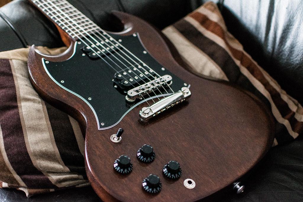 Gibson SG Faded 2017 - worn brown | jntvn | Flickr