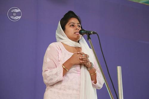 Ramanjot Kaur from Rajinder Nagar, Delhi, expresses her views