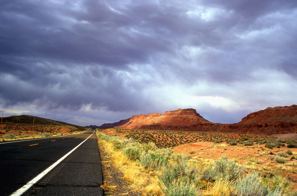 Lonely Road to Page, Arizona