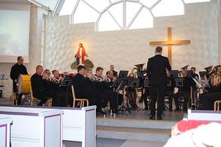 Per Engström leder Gnosjö Brassband