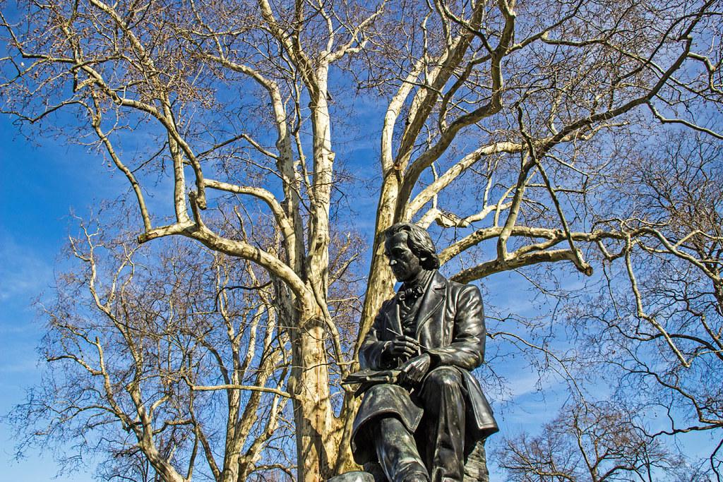 Dresden - Ludwig Richter-Denkmal im Brühlschen Garten