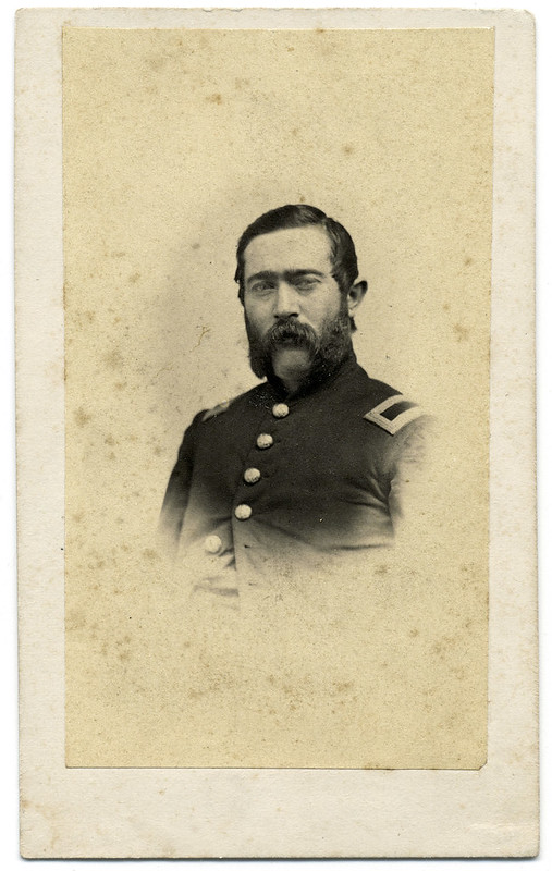 Union Cavalryman in Vignette