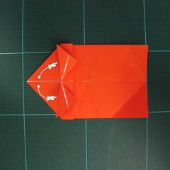 การพับกระดาษเป็นรูปปลาทอง (Origami Goldfish) 009