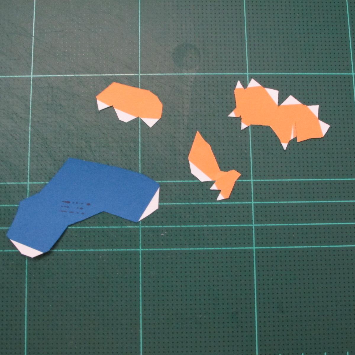 วิธีทำโมเดลกระดาษตุ้กตา คุกกี้รสราชินีสเก็ตลีลา จากเกมส์คุกกี้รัน (LINE Cookie Run Skating Queen Cookie Papercraft Model) 018