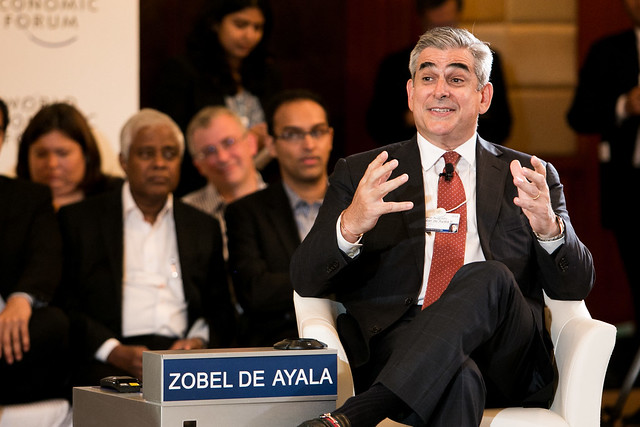 Jaime Augusto Zobel de Ayala II - World Economic Forum on East Asia 2014