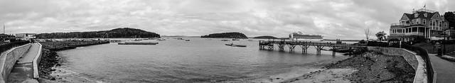 Bar Harbor panorama
