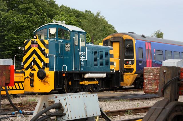 07 010 Ruston and Hornsby Class 07, Avon Valley Railway, St Philip's Marsh, Bristol