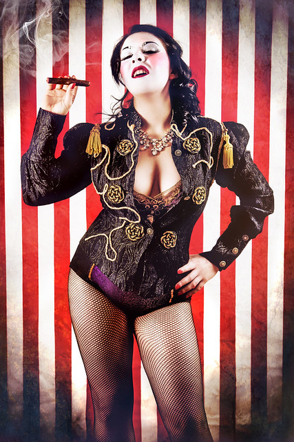 Burlesque Circus: The Ringmaster