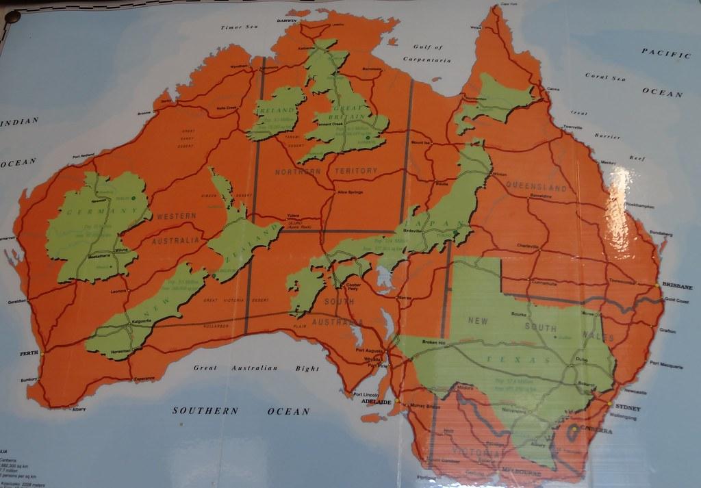 Australia Map New Zealand.Australia Map With New Zealand Germany Texas Etc In Charl Flickr