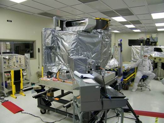 GOES-R ABI Undergoes Mass Properties Measurements