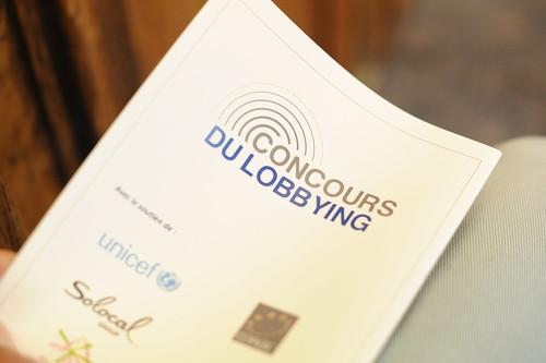 Concours du Lobbying 2014, le programme