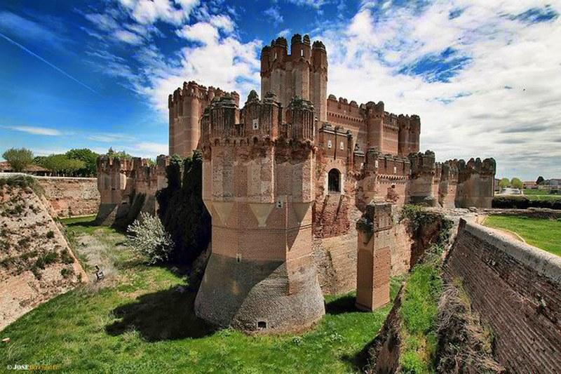 Castillo de Coca - Coca, Segovia (España)