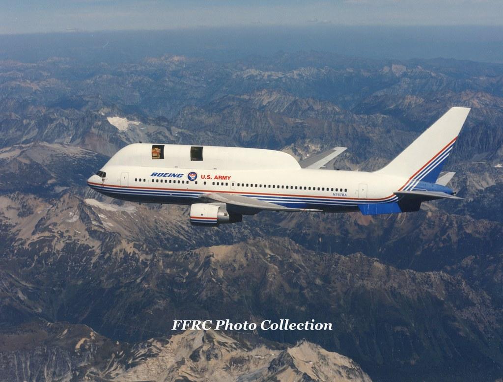 767-200 N767BA Airborne Optical Adjunct/Airborne Surveilla… | Flickr