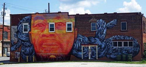 graffiti mural streetart urbanart aerosolart publicart edgewood atlanta georgia atl gaia nanook