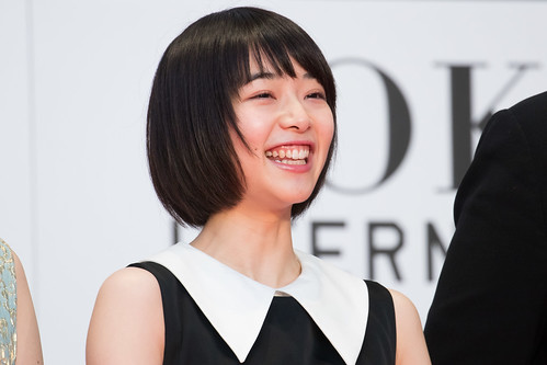 """Ririka from """"flowering"""" at Opening Ceremony of the Tokyo International Film Festival 2016   by Dick Thomas Johnson"""