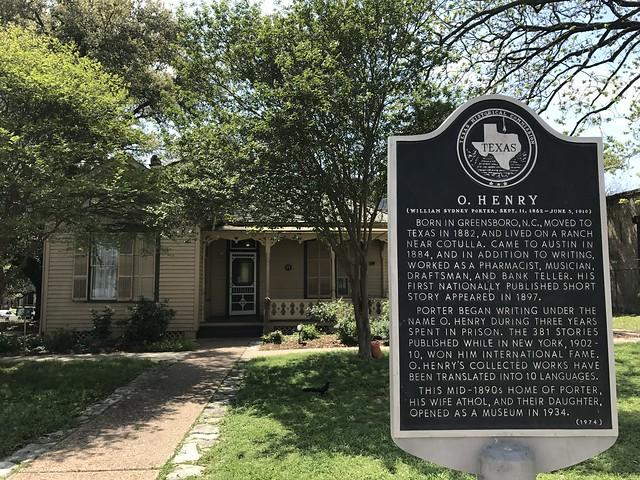 O. Henry's house, Austin TX