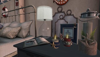 4 Seasons of Bedrooms: Anchors Aweigh (Summer Side Table) | by Hidden Gems in Second Life (Interior Designer)