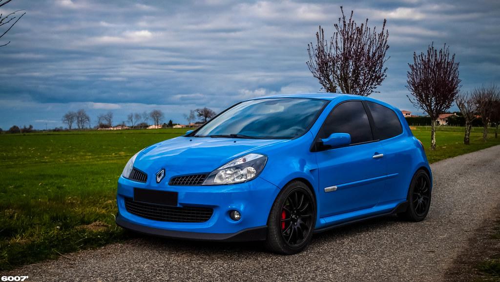 Clio 3 Rs Dynamo Blue Florian Flickr