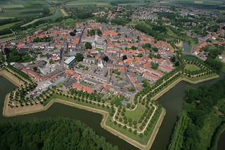 luchtfoto Hulst   by hogeweg5