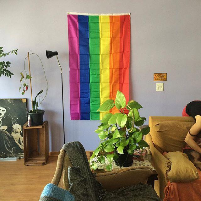 flag #lgbt #gay #VSCO #VSCOcam #snapseed | via Instagram if