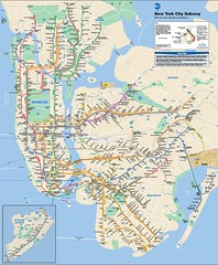 Current map of MTA