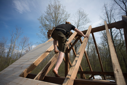 Tyler Climbing Cottage Roof | by goingslowly