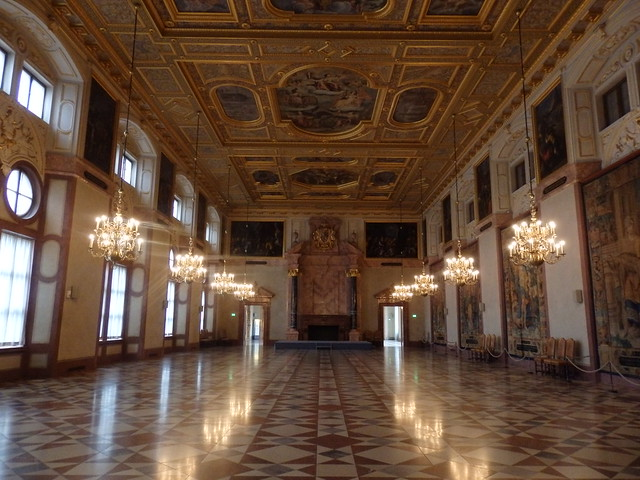 The Emperor's Hall, in the Residenz