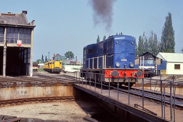 SNCF 62413 Longeau (F) 15 mei 1992