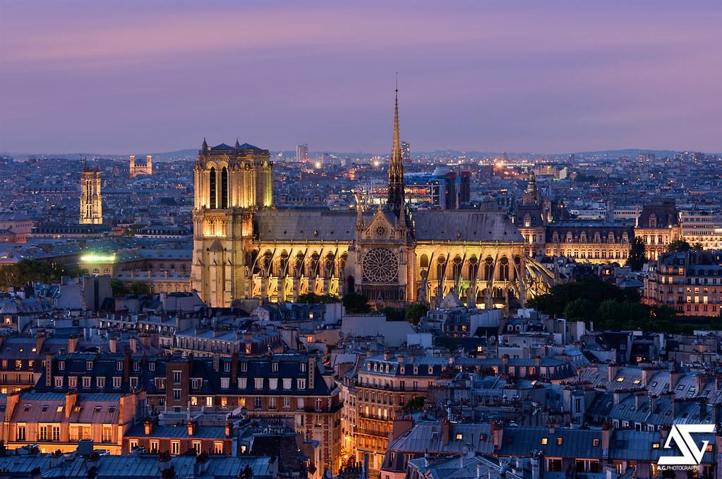 Notre Dame @ Blue Hour