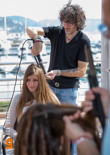 Expomare 2014 - Hair Stylist al lavoro