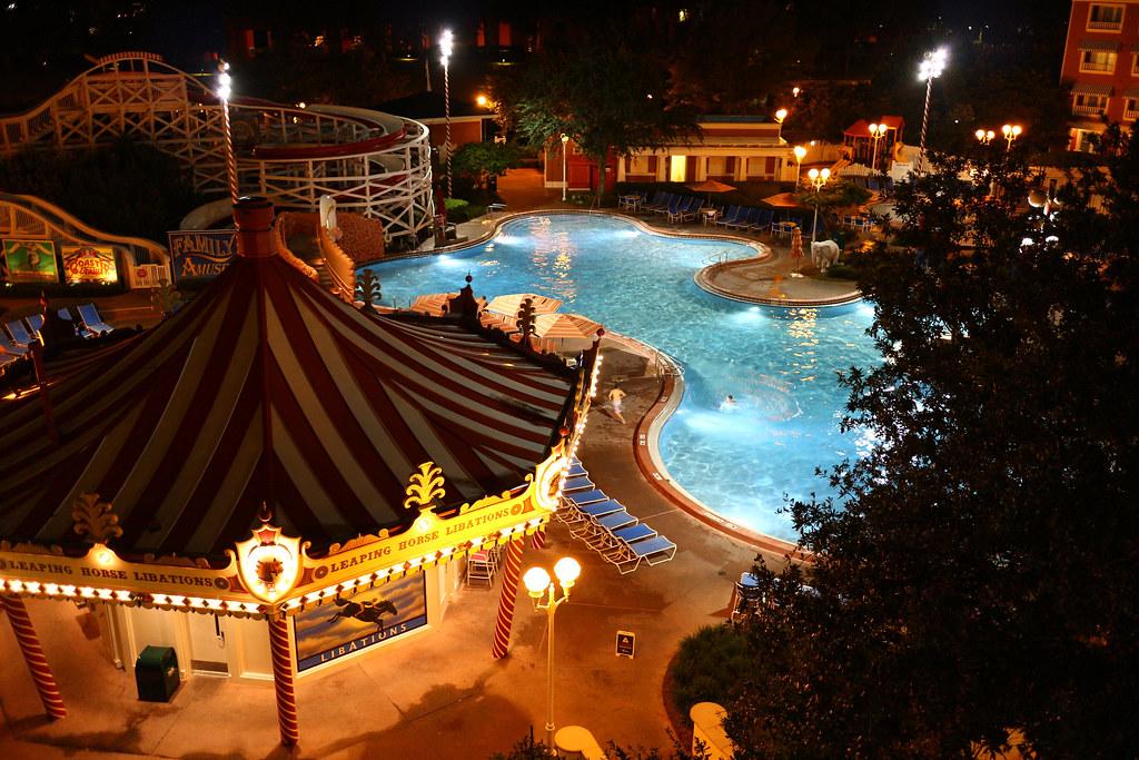Night Clown Pool