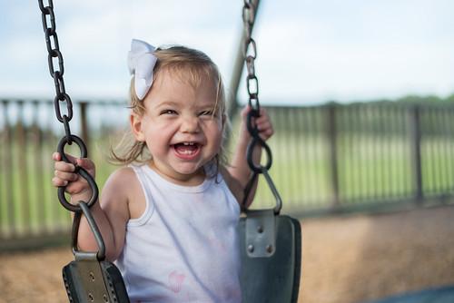 Happy, Swinging Reese | by donnierayjones