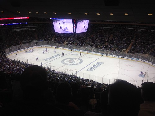 Watching Rangers vs Montreal. Go Rangers!! | by brusegard