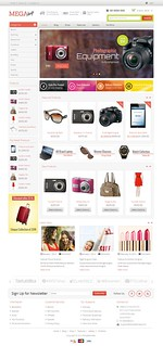 Mega Shop Responsive WooCommerce Theme