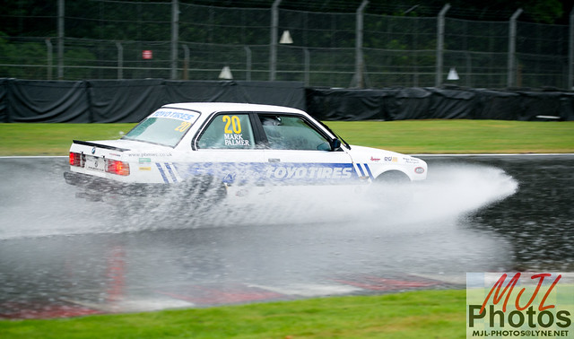 Motor racing introduces a 'water jump' at Oulton Park!