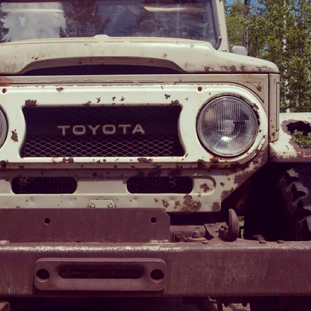 Salmon Arm Toyota >> For Sale Rusty 1977 Fj45 Toyota Land Cruiser In Salmon A