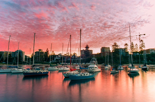 Wollongong Harbour Sunset