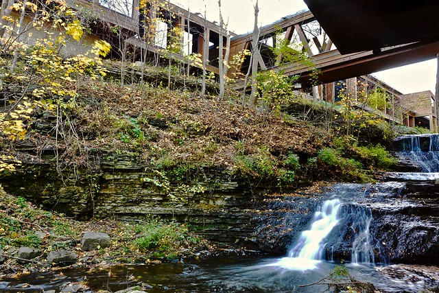 Lower Mill Falls at Old Mill, Ancaster, Hamilton, Canada