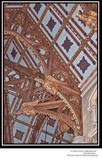 St. Joseph's Church   circa 1980's  Albany NY