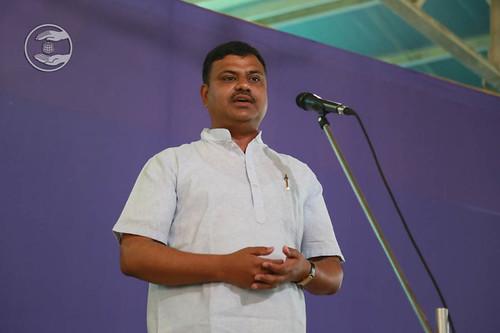 Rakesh Joshi from Surya Nagar, expresses his views